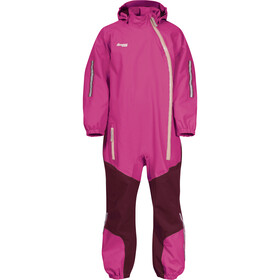Bergans Lilletind Coverall Kids raspberry/beet red/peach pink